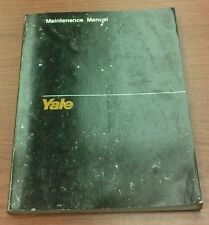 Yale Engine Maintenance Manual for Models FE/F2 (1494)