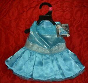 Belle Of the Ball Princess Blue Dress Dog Costume XXS, XS, S, M - New w/ Tags