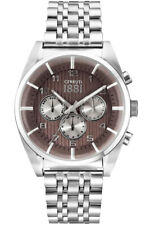 Cerruti 1881 Men's Watch CRA109SN11MS Stainless Steel Wristwatch New