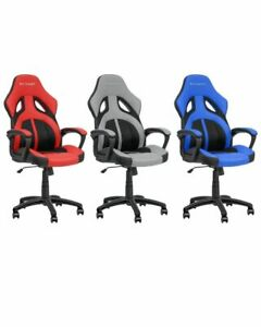 Sedia poltrona ufficio casa direzionale ruote girevoli racing sportiva gaming