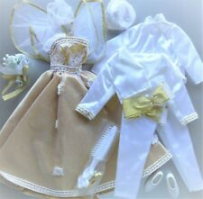 Integrity Toys Outfit Set Janay & Jordan Royal Wedding Heritage 1999 Bride Groom
