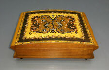 Jewelry Box With Music Box And Inlaid - O Sole Mio
