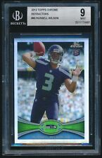 2012 Topps Chrome Refractor rookie #40 Russell Wilson rc BGS 9 Mint