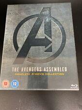 Marvel Avengers 4-Movie Collection (Endgame)- Blu Ray - Box Set - New & Sealed