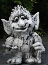 Steinfigur Elfe Troll GROGOSH ca. 32 cm ca. 7 kg 562-D