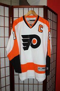 Vintage NHL Philadelphia Flyers #18 Richards  jersey shirt size S .ALY