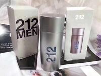 212 Men NYC By Carolina Herrera 3.4 OZ 100 ML Eau De Toilette perfume spray