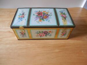 Collectable, Edward Sharp & Sons Tin Toffee Box w Child Games Bundle from 1950's