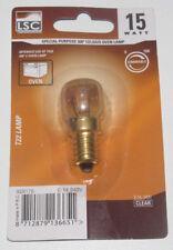 Ampoule pour Four Lamp 15 Watt T25 E14 240V Clear