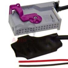 Adaptador Bluetooth aux en para audi RNS-E Navi TV Manija conector cables mp3 radio