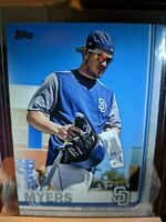 2019 TOPPS SERIES 2 TWO #485 WIL MYERS SHORT PRINT SP VARIATION SAN DIEGO PADRES
