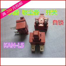 1PCS NOVA KAN-L5 Lateral 2 Pin ON OFF Power Switch Push Botton 10A 250VAC T120