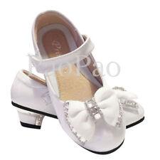 Chaussures blanches moyens en synthétique pour fille de 2 à 16 ans