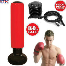 Inflatable Stress Punch Tower Free Standing Box Boxing Bop Workout Bag with Pump