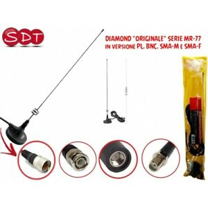 Diamond Original SERIE MR-77 Antenne Mit Magnetfuß 144/430MHz