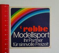 Aufkleber/Sticker: robbe Modellsport (23051613)