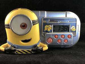 Despicable Me - Minions Alarm Clock - Night Glowing, Sleep Timer, Speech, Sound