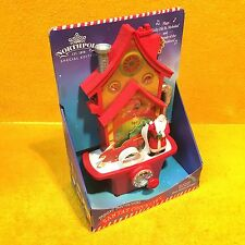 *NEW* Hallmark North Pole Santa & Elves Magic Mechanical Santa's Checklist House