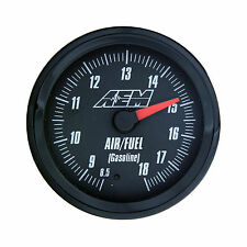 AEM 30-5130 Wideband Air/Fuel Gauge 8.5 to 18:1AFR with Analog Face & Sensor Kit