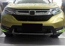 Outer Front Fog Light Lamp Eyelid Cover Decor Trim ABS For Honda CR-V 2017 2018