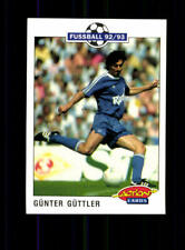 Günter Güttler  FC Schalke 04  Panini Action Card 1992-93 + A 183115