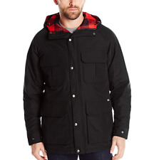 NWT Woolrich Mens Advisory Wool Insulated Mountain Parka Black XL X-Large $279