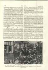 1900 GLI ARTIGLI DELL'ORSO RUSSIA India cinese GUN DRILL