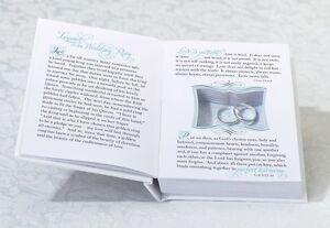 White Wedding Ring Book Box Wedding Ring Pillow Alternative