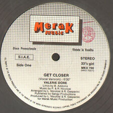 VALERIE DORE - Get Closer - Merak Music