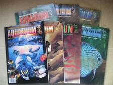 FRESHWATER & MARINE AQUARIUM Lot of 7 pcs. 1997 dated magazines