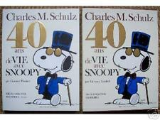 Schulz  40 ANS DE VIE DE SNOOPY