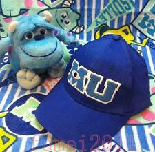 Hot Baseball Cap Pixar Monsters University Sulley Costume MU  Blue Hat