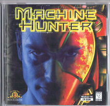 Machine Hunter  (PC, 1997) Brand New in Jewel Case w/ Manual! Free USA Shipping!