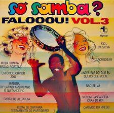SO SAMBA? FALOOOU! VOL3 mineira/festa de santana/nao se va LP TAPECAR bresil VG+