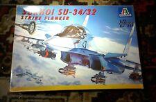 Italeri 1/72 Sukhoi Su34/32 Strike Flanker  model aircraft kit
