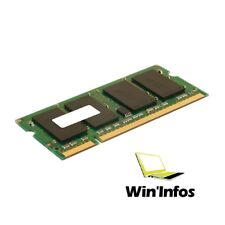 Barrette de memoire RAM SO-DIMM PC2 - 6400S DDRII DDR2 - 1 go 1 gb