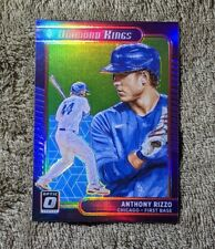 2021 Donruss Optic ANTHONY RIZZO Diamond Kings Lime Green Prizm Chicago Cubs