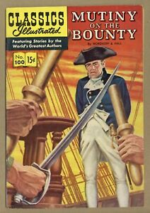 Classics Illustrated 100 Mutiny on the Bounty #1 VG/FN 5.0 1952