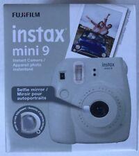 Fujifilm instax mini 9 Instant Film Camera - Smokey White