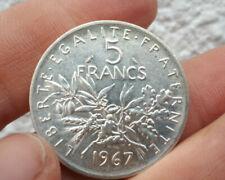 5 FRANCS SEMEUSE 1967 TBE