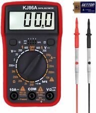 Digital Multimeter with Ohm Volt Amp Resistance Diode Voltage Tester Meter Ac/Dc
