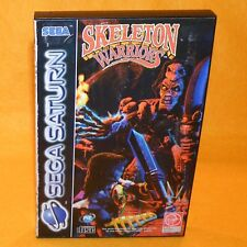VINTAGE 1994 SEGA SATURN SKELETON WARRIORS VIDEO GAME PAL & FRENCH SECAM VERSION