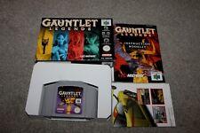 Nintendo 64 - Gauntlet Legends - N64 - Complete - Boxed + Manual - COLLECTORS