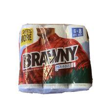 Brawny Pick A Size Paper Towels 6 Rolls Equals 8