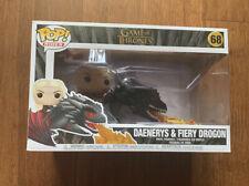 Funko Pop! Rides: Game of Thrones - Daenerys On Fiery Drogon - New & Sealed