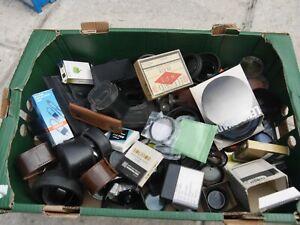 Joblot vintage camera filters 35mm
