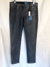 Bleulab 31 Reversible Skinny Jeans Black And Coated Platinum New Tags