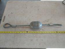 "Condux 08059540 4"" Aluminum Test Mandrel 5"" Overall Length"