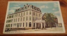 1921 Postcard - Leland Hotel - Waynesboro PA