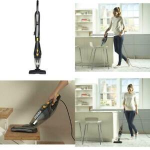 3-in-1 Swivel Lightweight Stick Vacuum Cleaner Dark Black